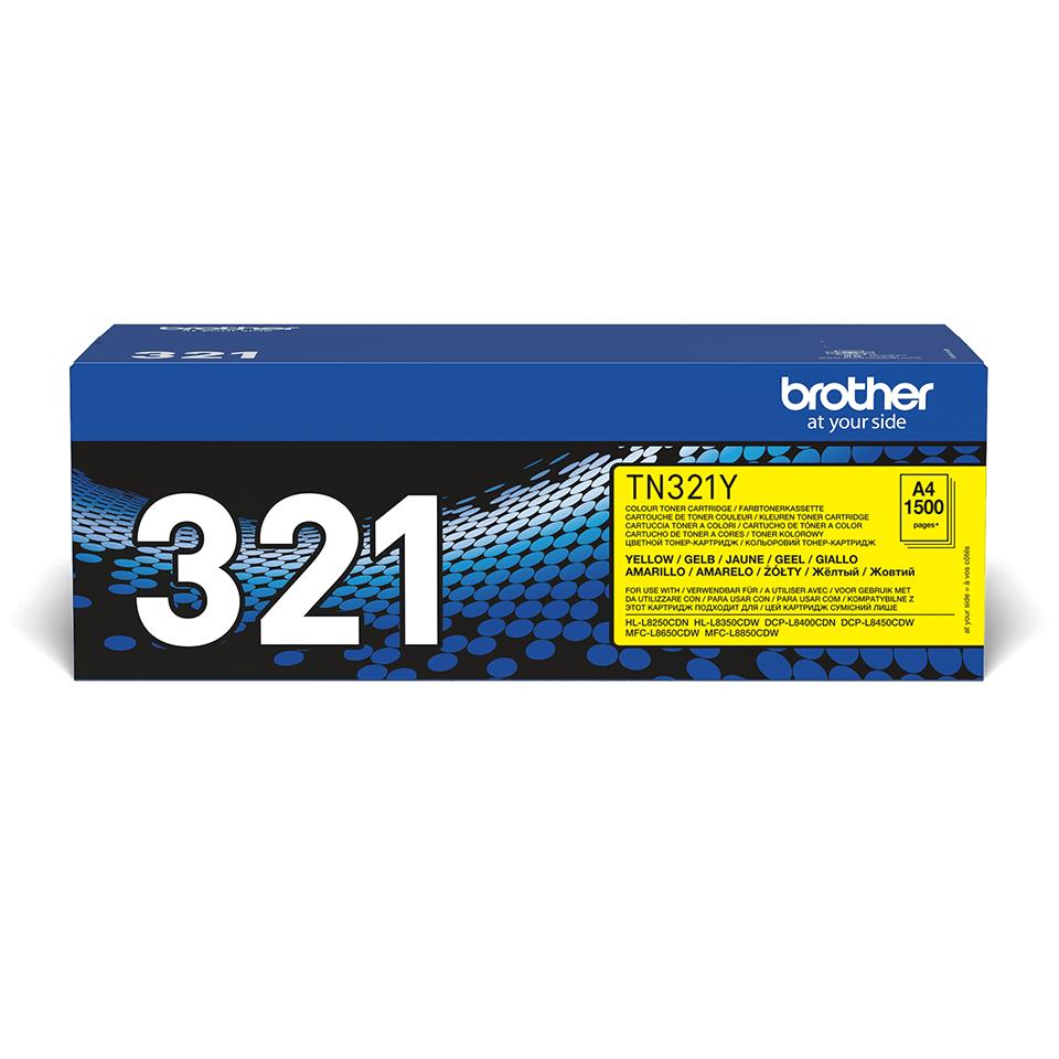 Cartuș de toner original Brother TN321Y – galben
