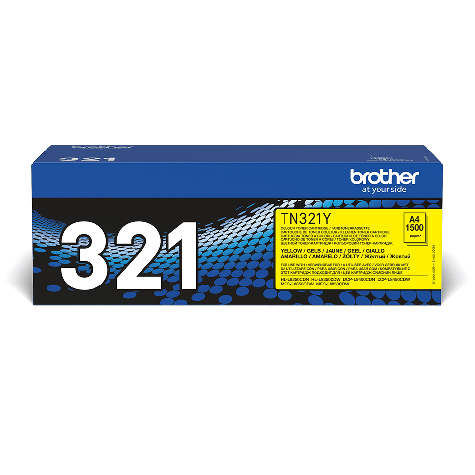 Cartuș de toner original Brother TN321Y – galben