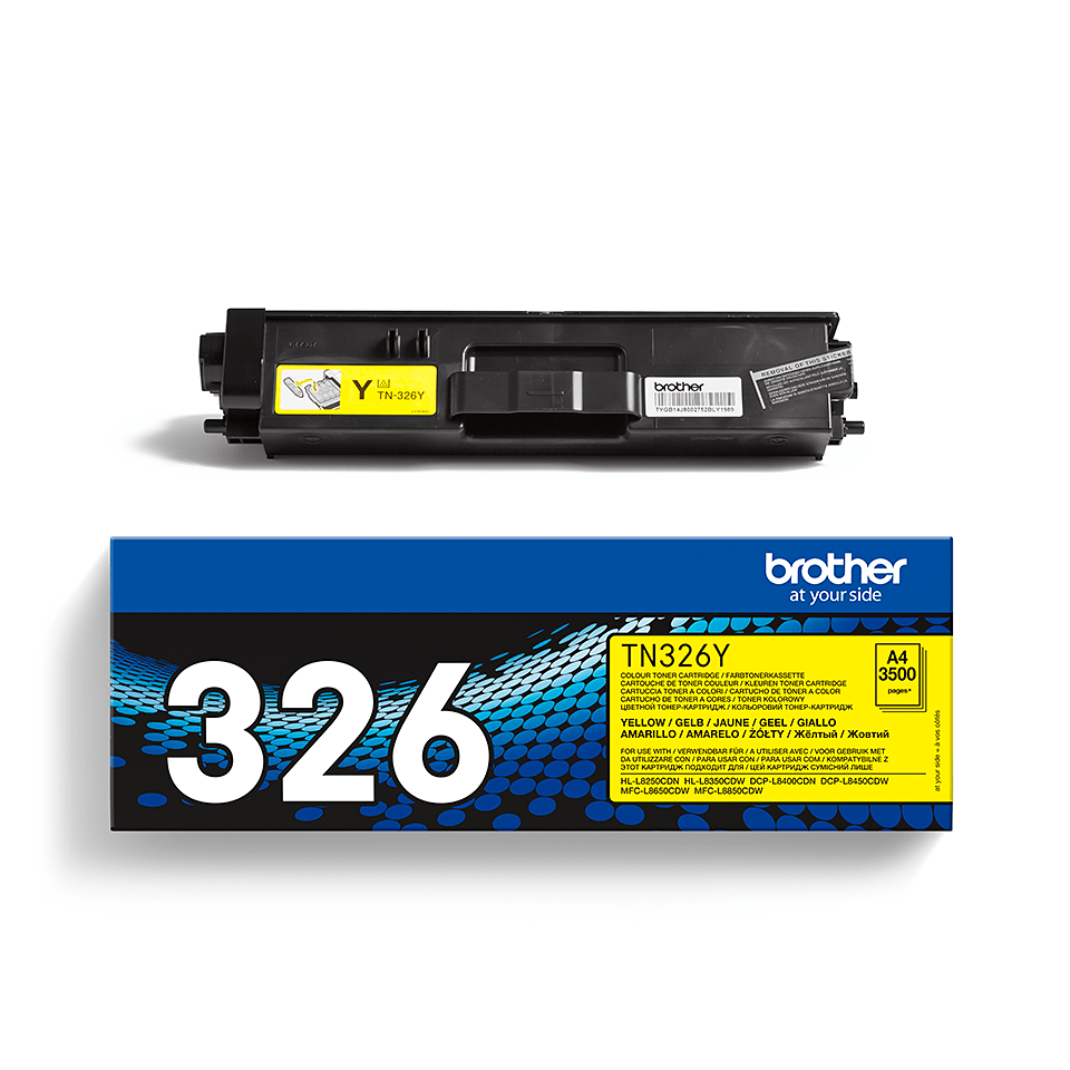 Cartuș de toner original Brother TN326Y – galben 2