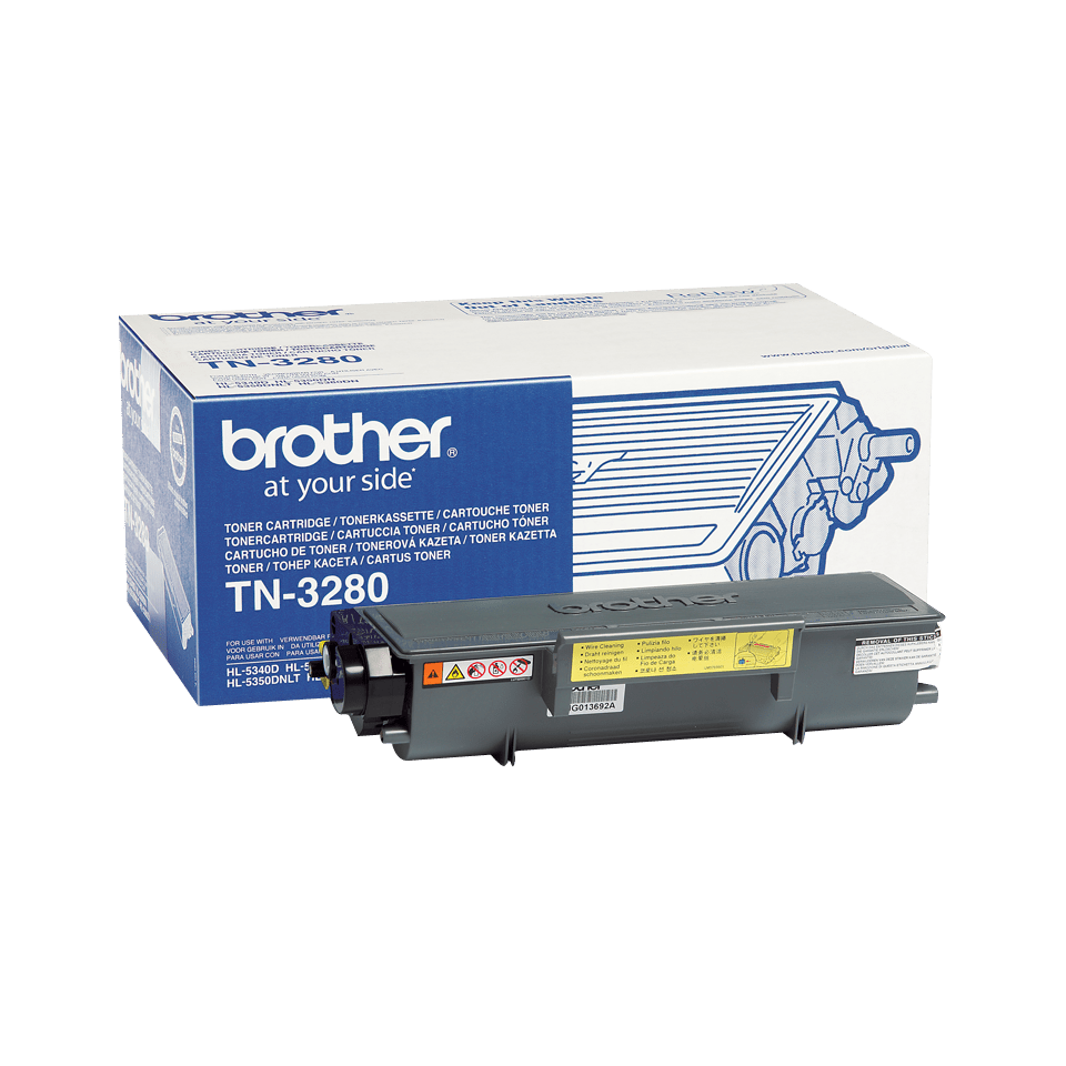 Cartuș de toner de capacitate mare original Brother TN-3280 – negru
