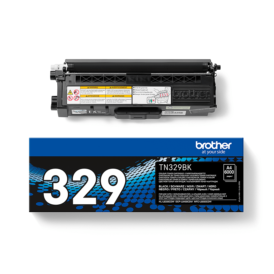 Cartuș de toner original Brother TN329BK – negru 2