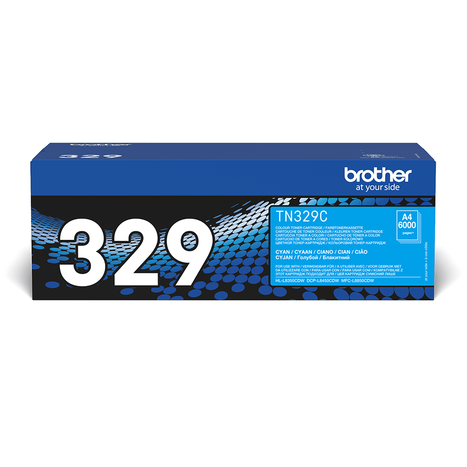 Cartuș de toner original Brother TN329C – cyan