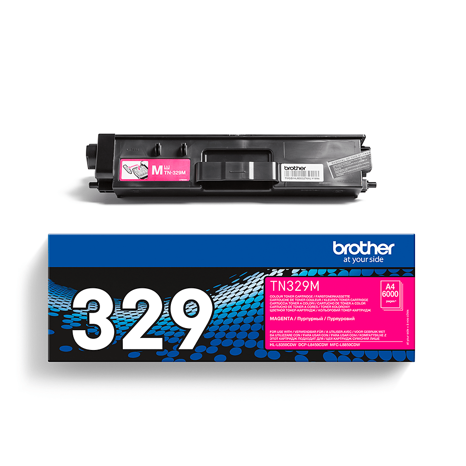 Cartuș de toner original Brother TN329M – magenta 2