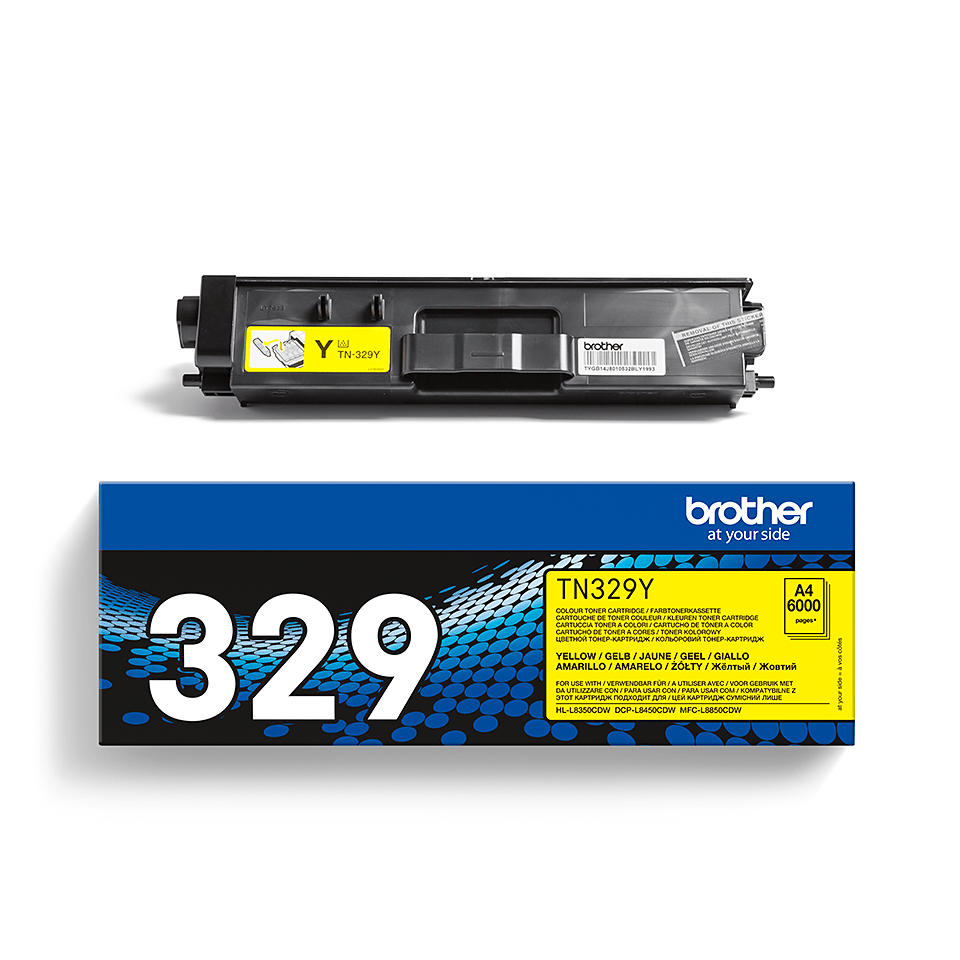 Cartuș de toner original Brother TN329Y – galben 2