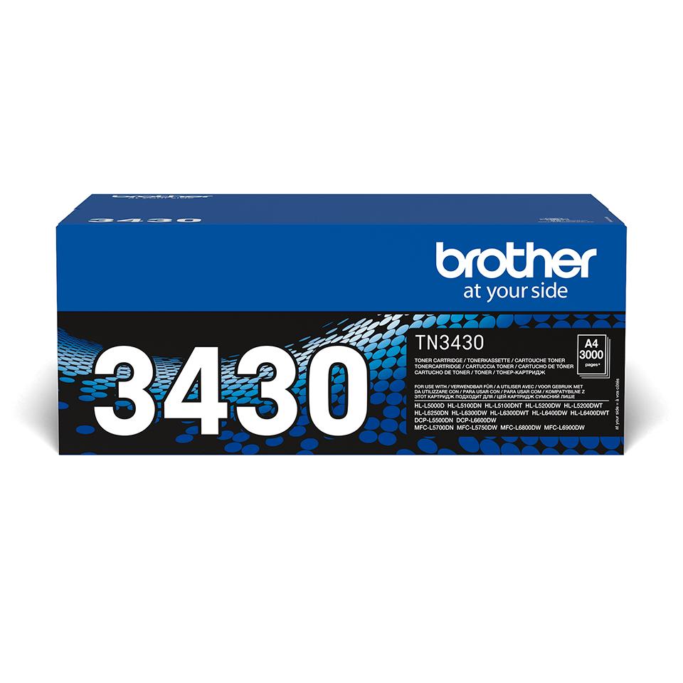 Cartuș de toner original Brother TN3430 – negru