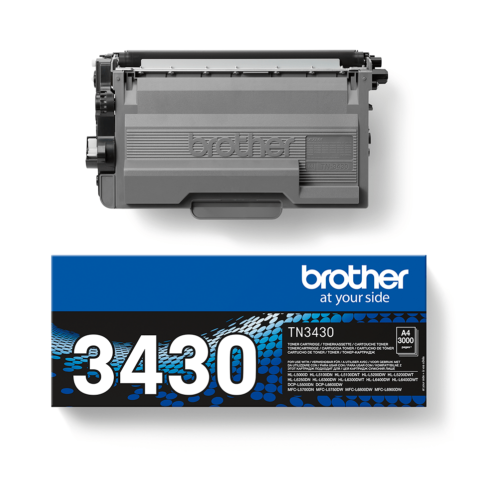 Cartuș de toner original Brother TN3430 – negru 2