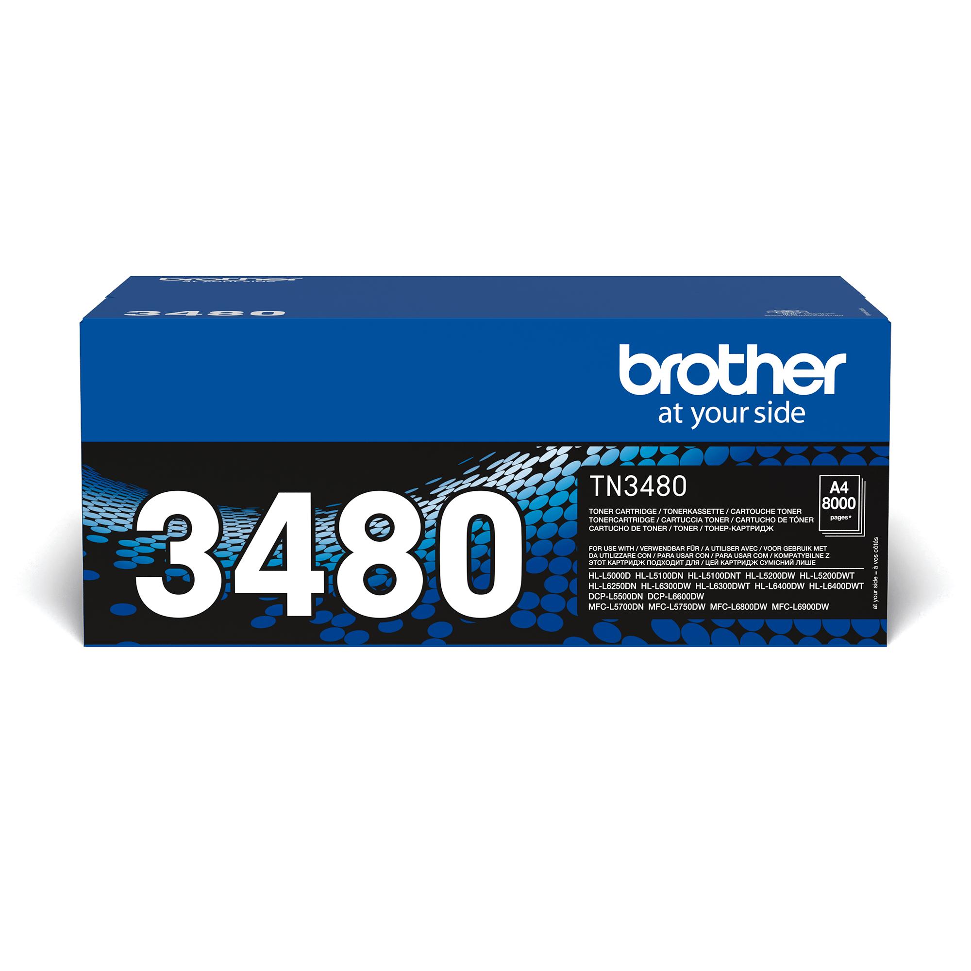 Cartuș de toner original Brother TN3480 – negru