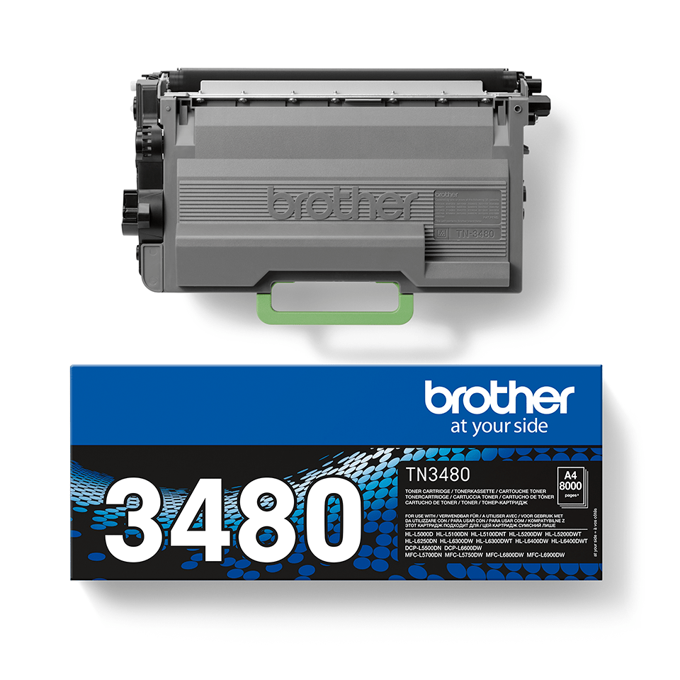 Cartuș de toner original Brother TN3480 – negru 2