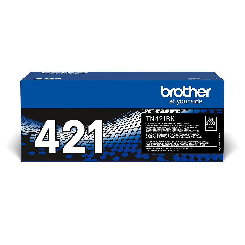 Cartuș de toner original Brother TN-421BK – negru 2