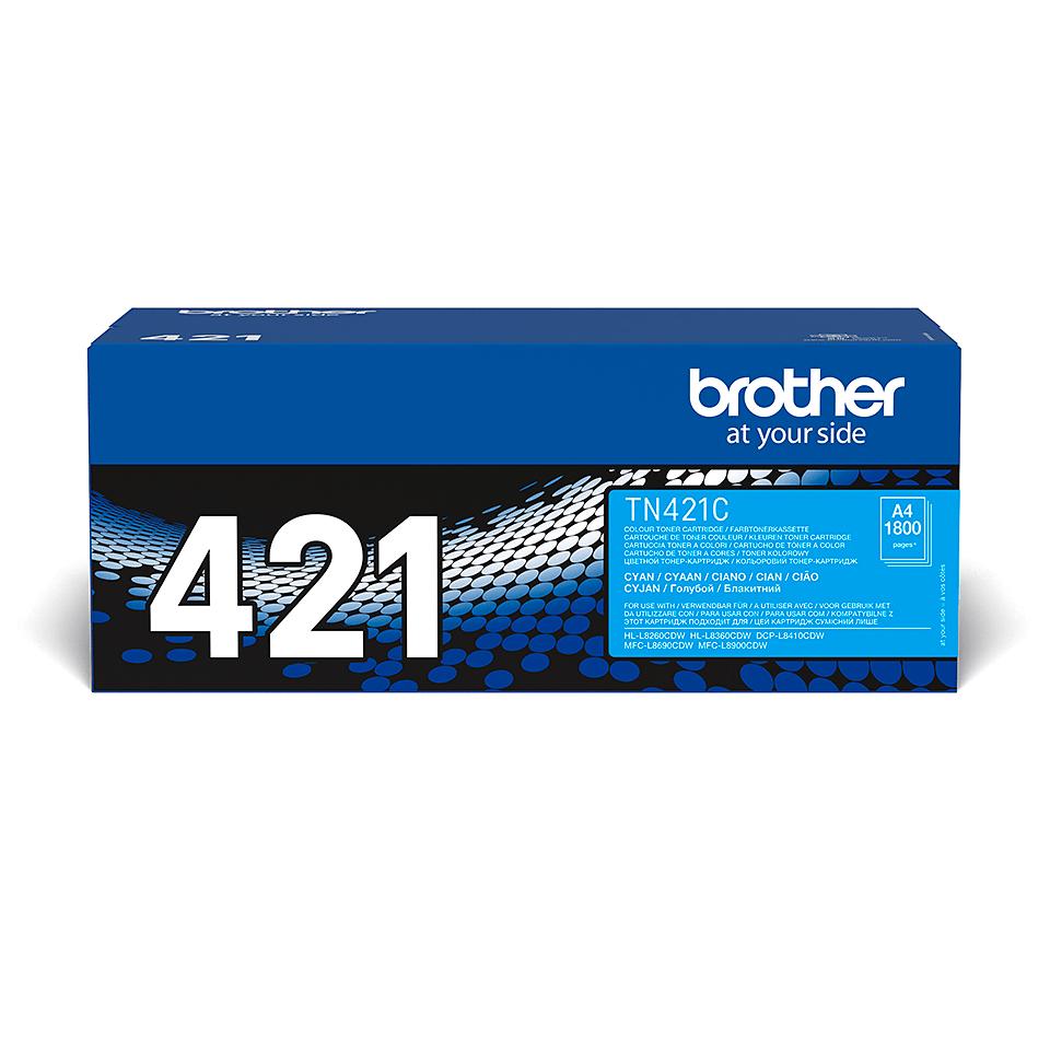 Cartuș de toner original Brother TN421C – cyan 2