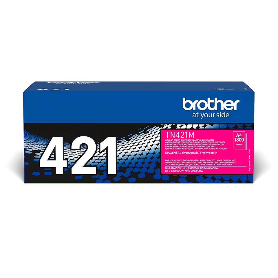 Cartuș de toner original Brother TN-421M – magenta 2