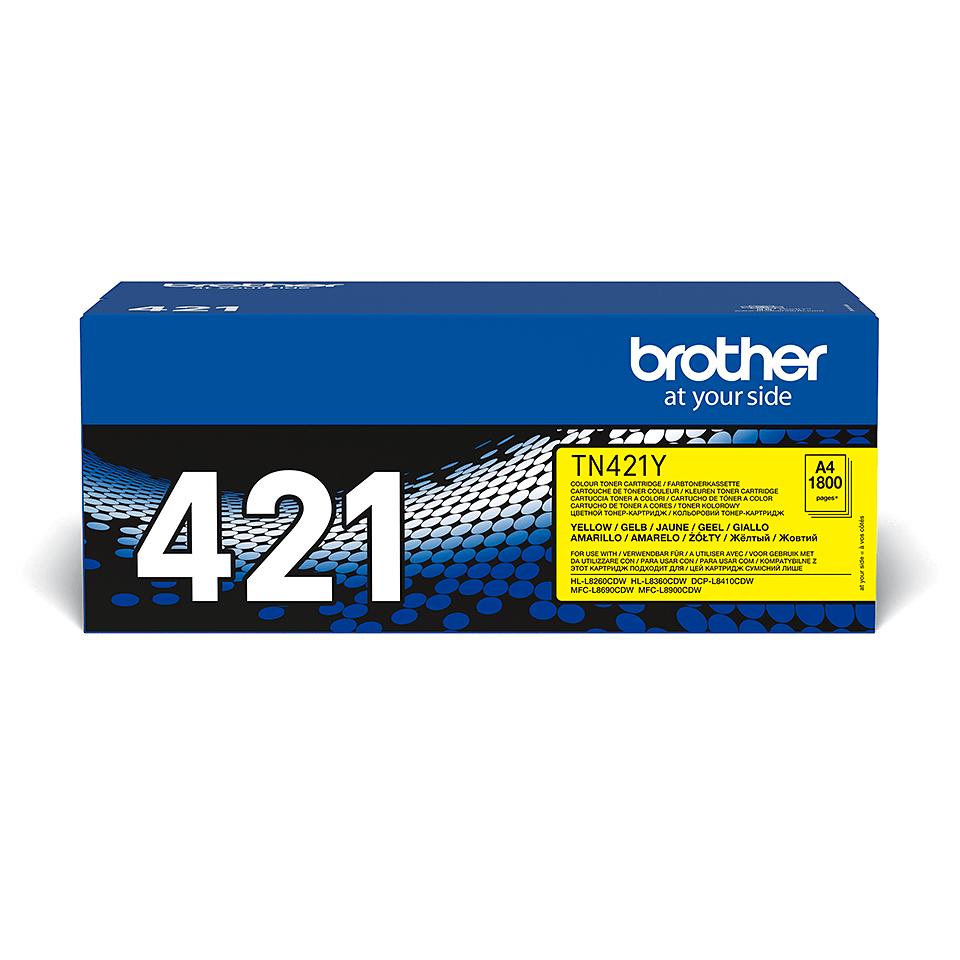 Cartuș de toner original Brother TN421Y – galben 2