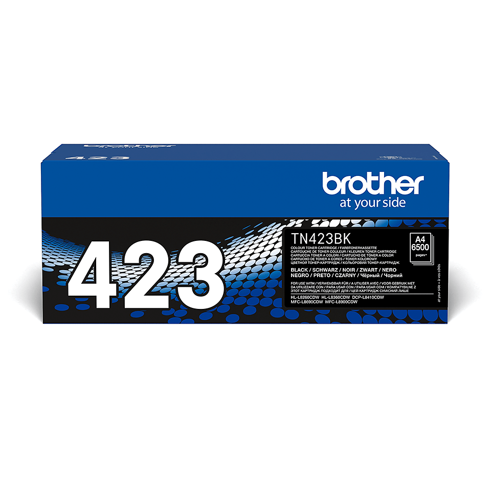 Cartuș de toner original Brother TN423BK – negru