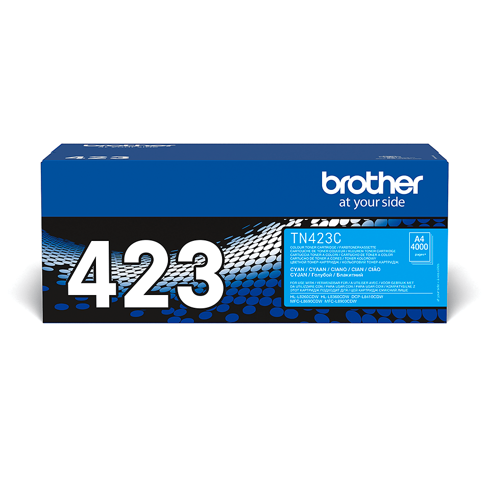 Cartuș de toner original Brother TN423C – cyan