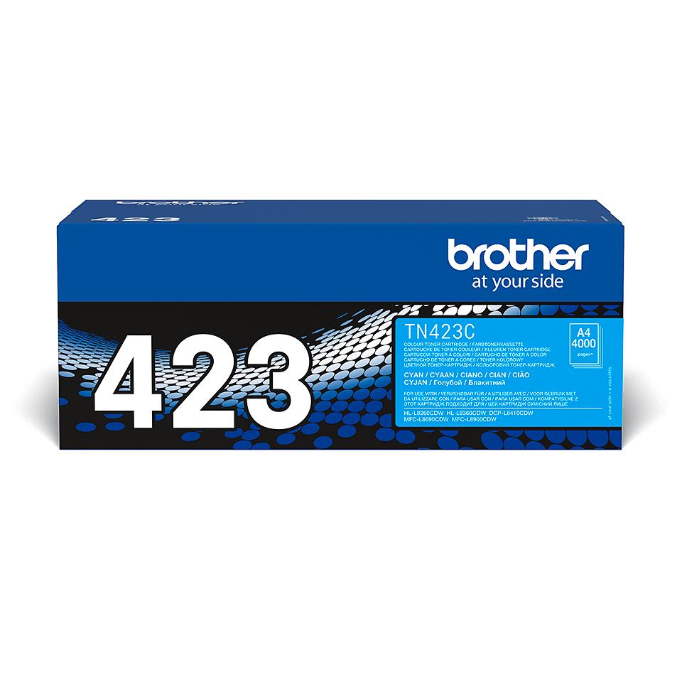 Cartuș de toner original Brother TN423C – cyan