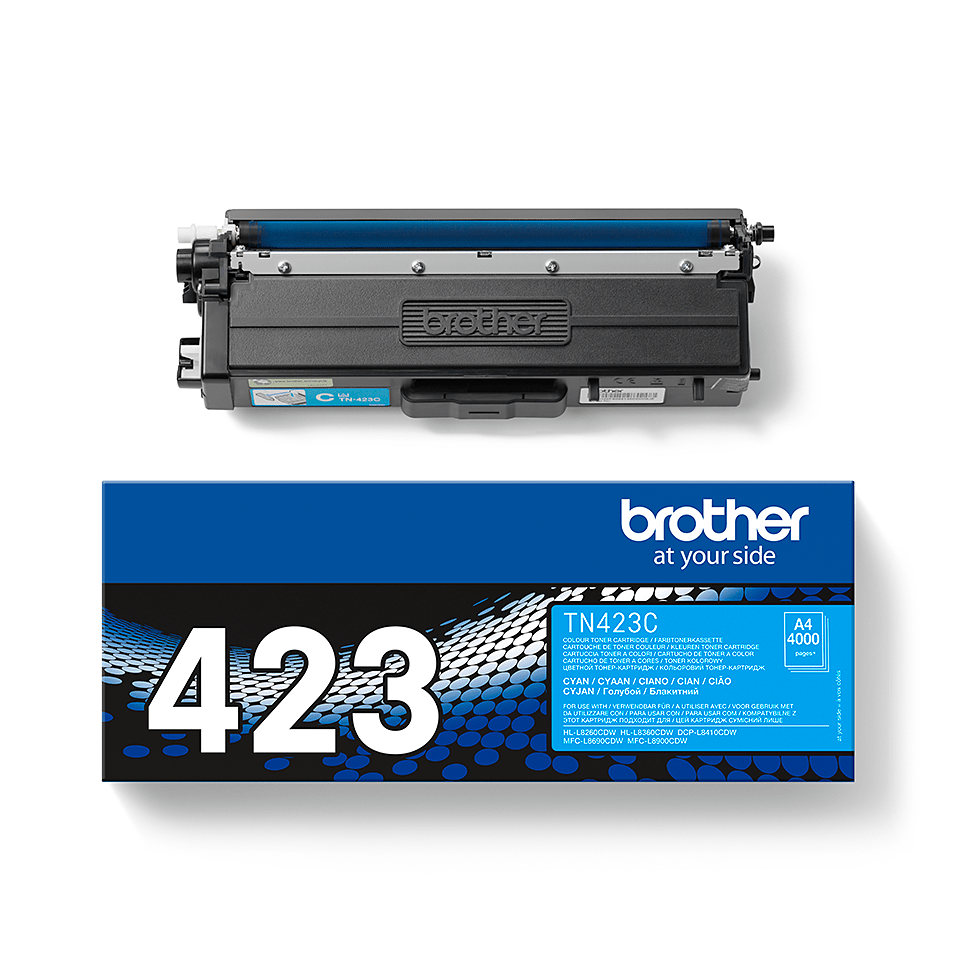 Cartuș de toner original Brother TN423C – cyan 2