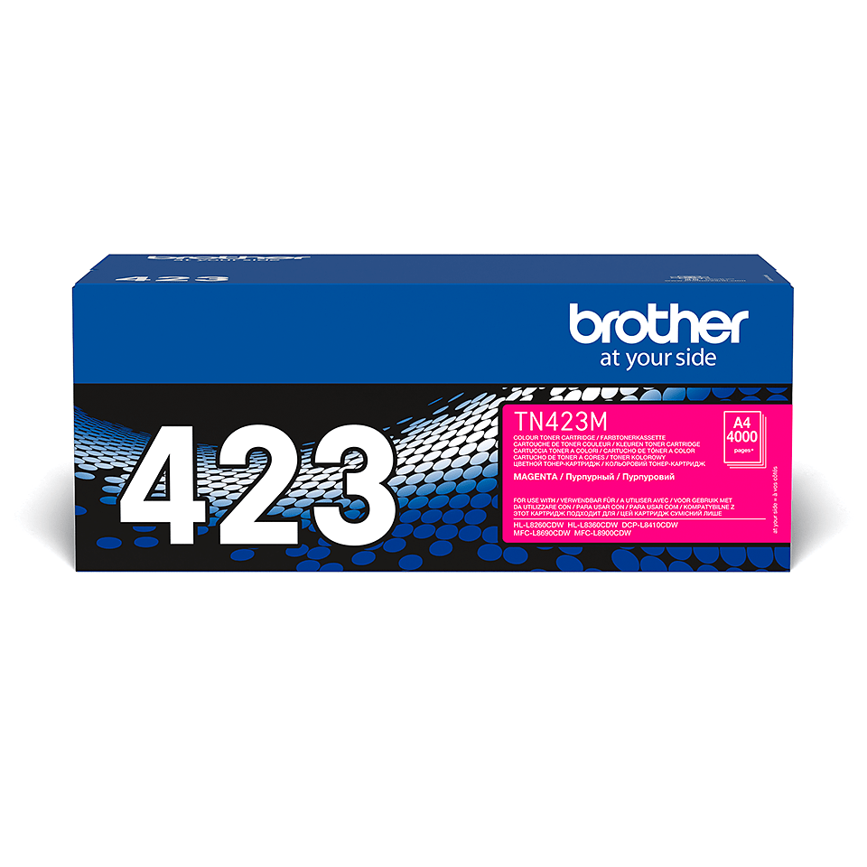 Cartuș de toner original Brother TN423M – magenta