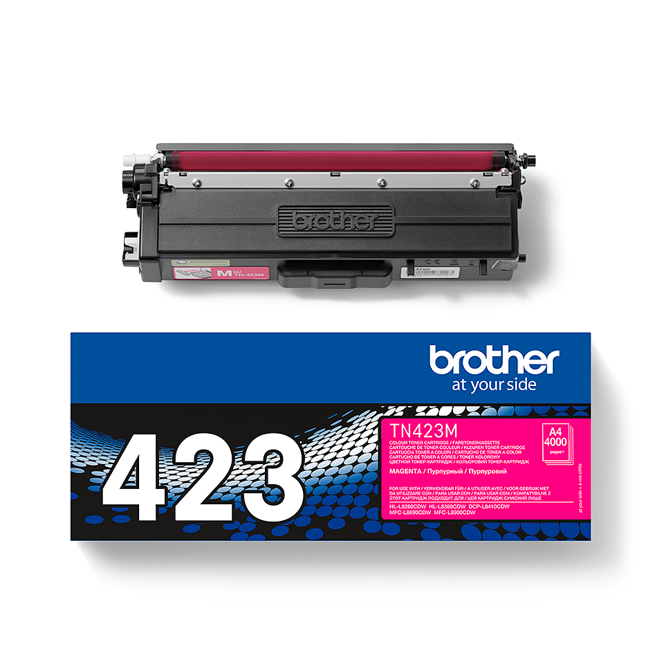 Cartuș de toner original Brother TN423M – magenta 2