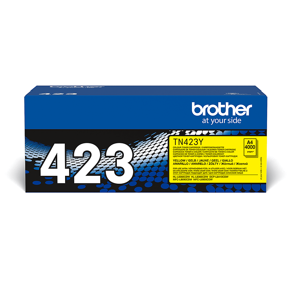 Cartuș de toner original Brother TN423Y – galben