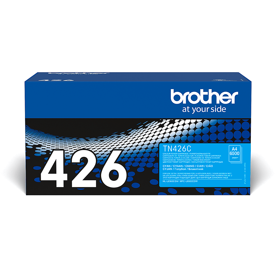 Cartuș de toner original Brother TN426C – cyan
