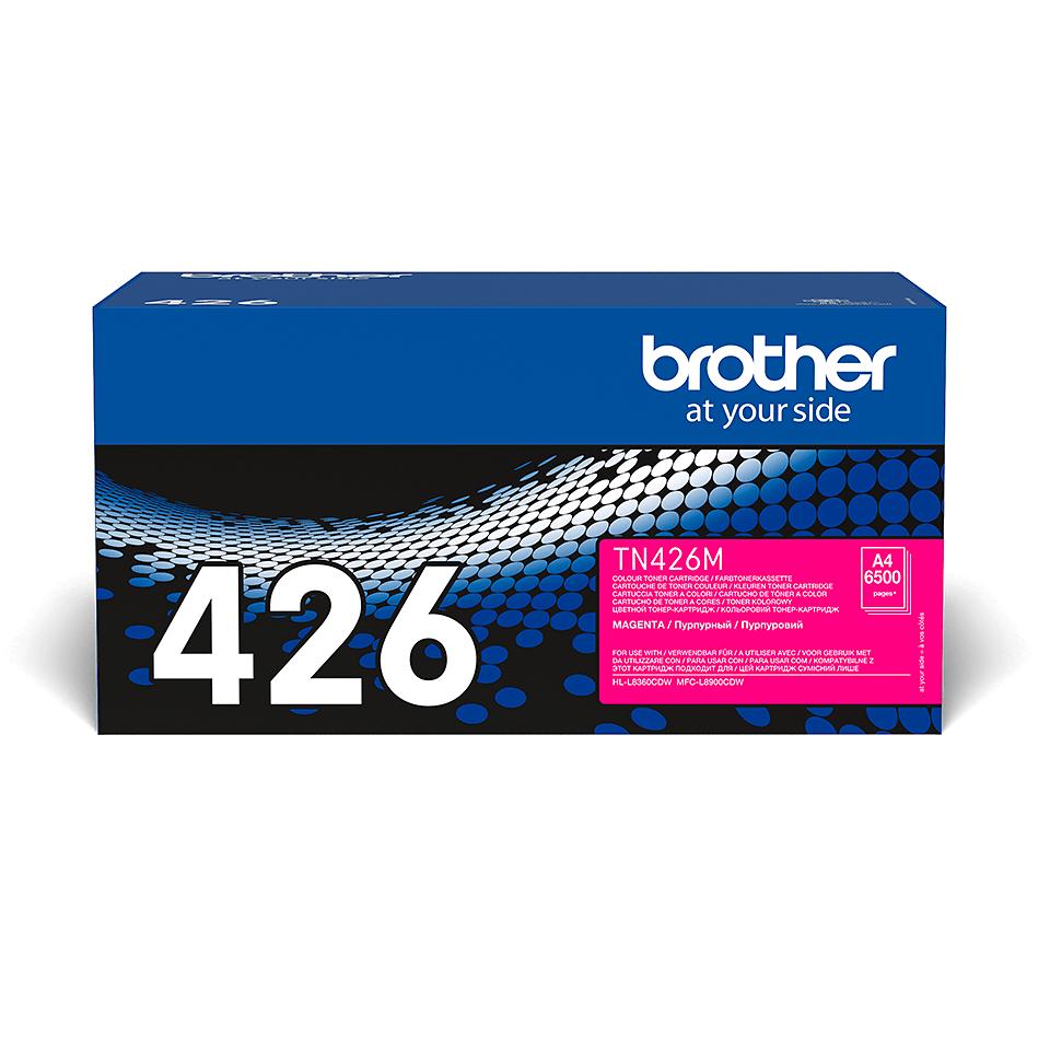 Cartuș de toner original Brother TN426M – magenta 2