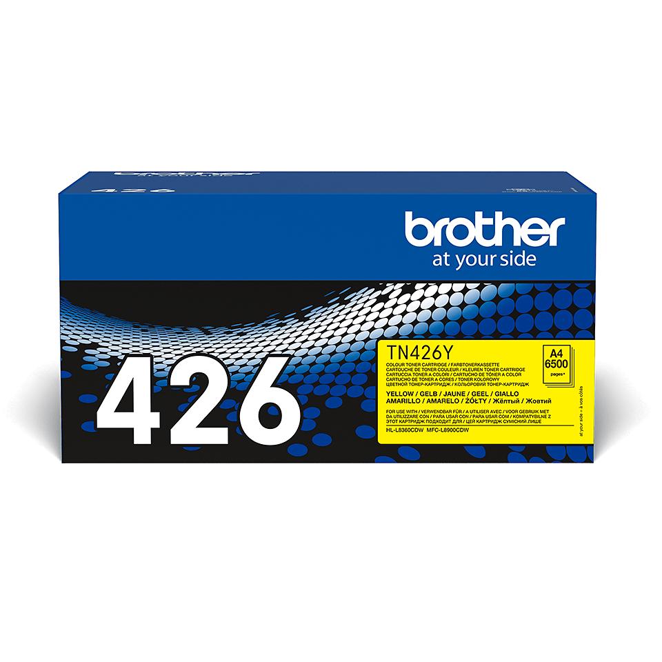 Cartuș de toner original Brother TN426Y – galben