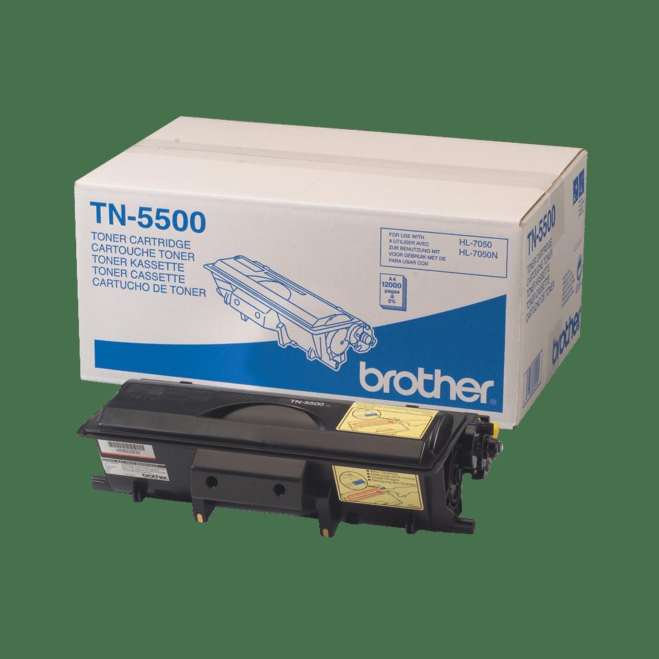 Cartuș de toner original Brother TN5500 de capacitate mare – negru