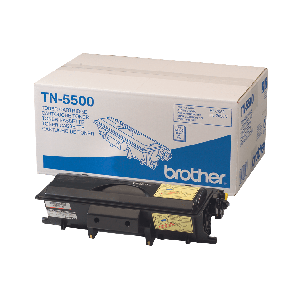 Cartuș de toner original Brother TN5500 de capacitate mare – negru