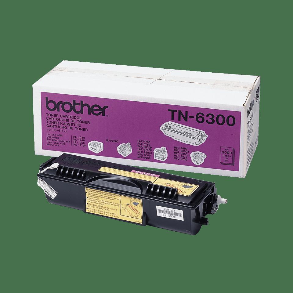 Cartuș de toner original Brother TN6300 de capacitate mare – negru