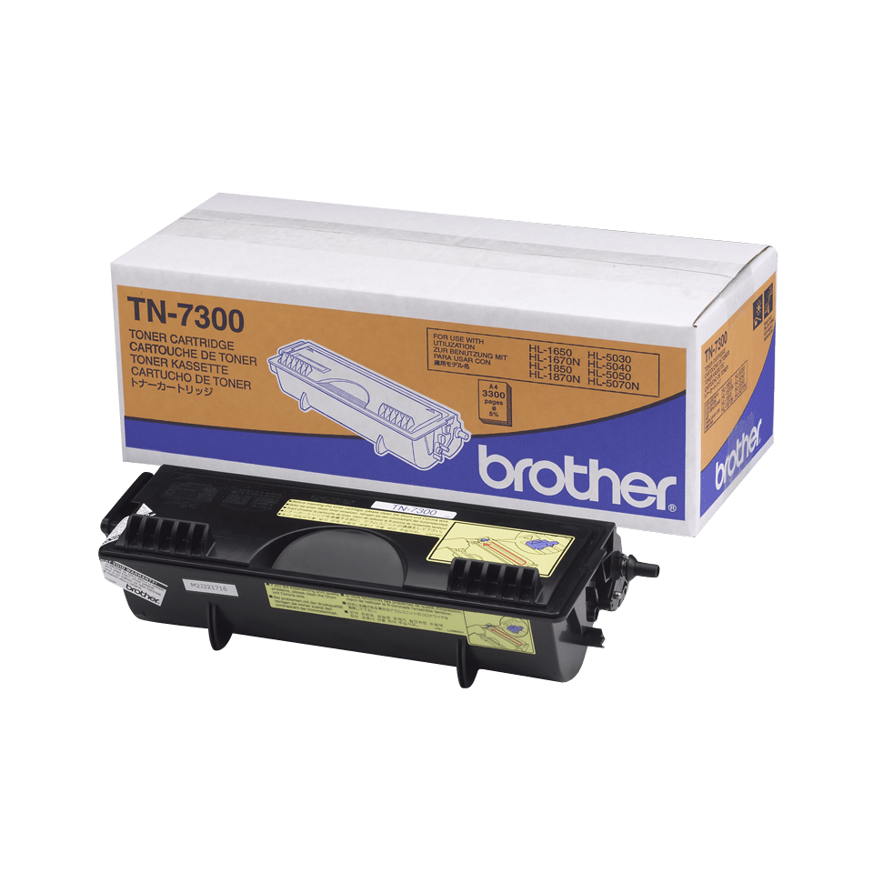 Cartuș de toner original Brother TN7300 de capacitate mare – negru