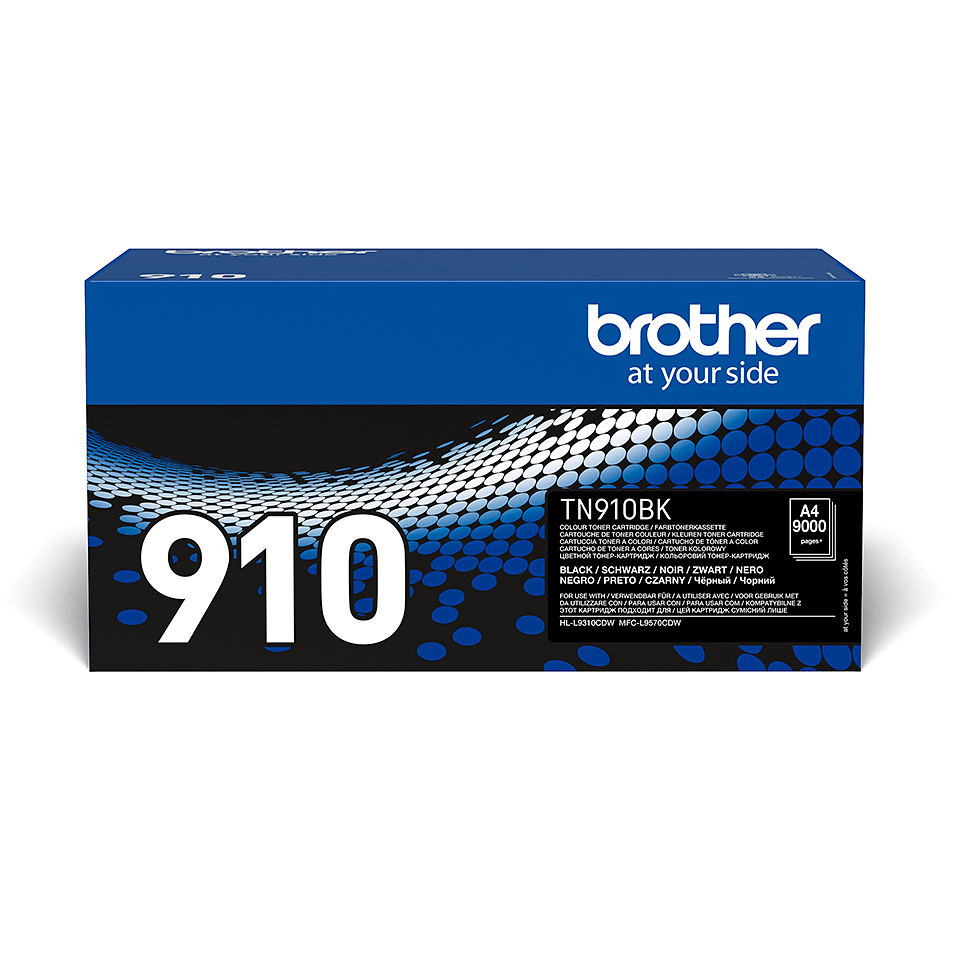 Cartuș de toner original Brother TN910BK – negru