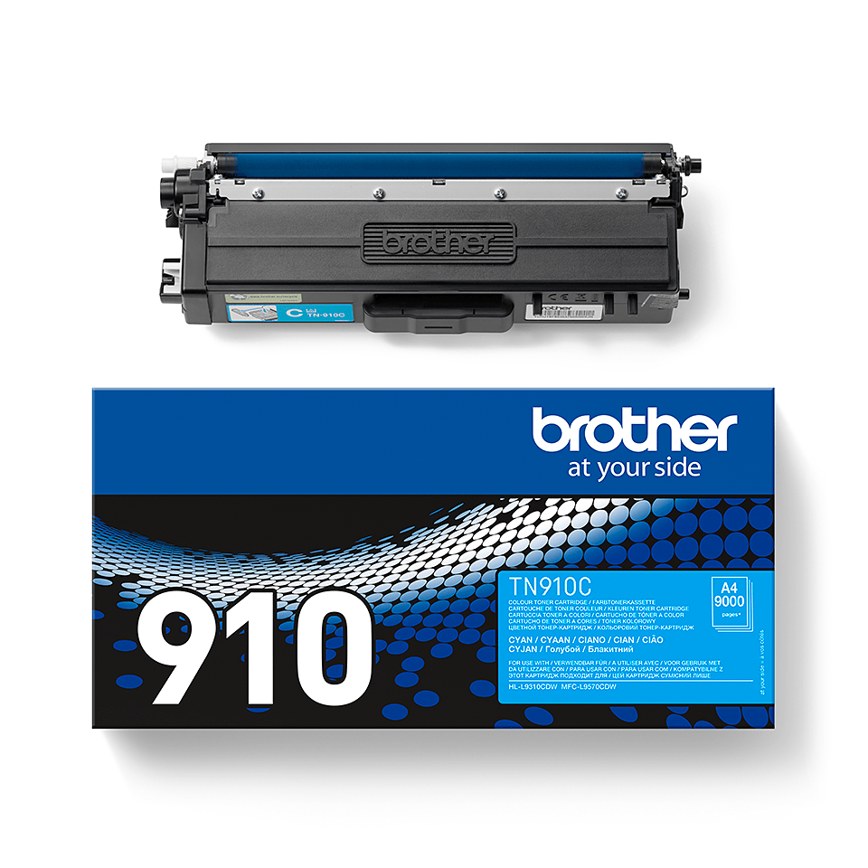 Cartuș de toner original Brother TN910C – cyan 2