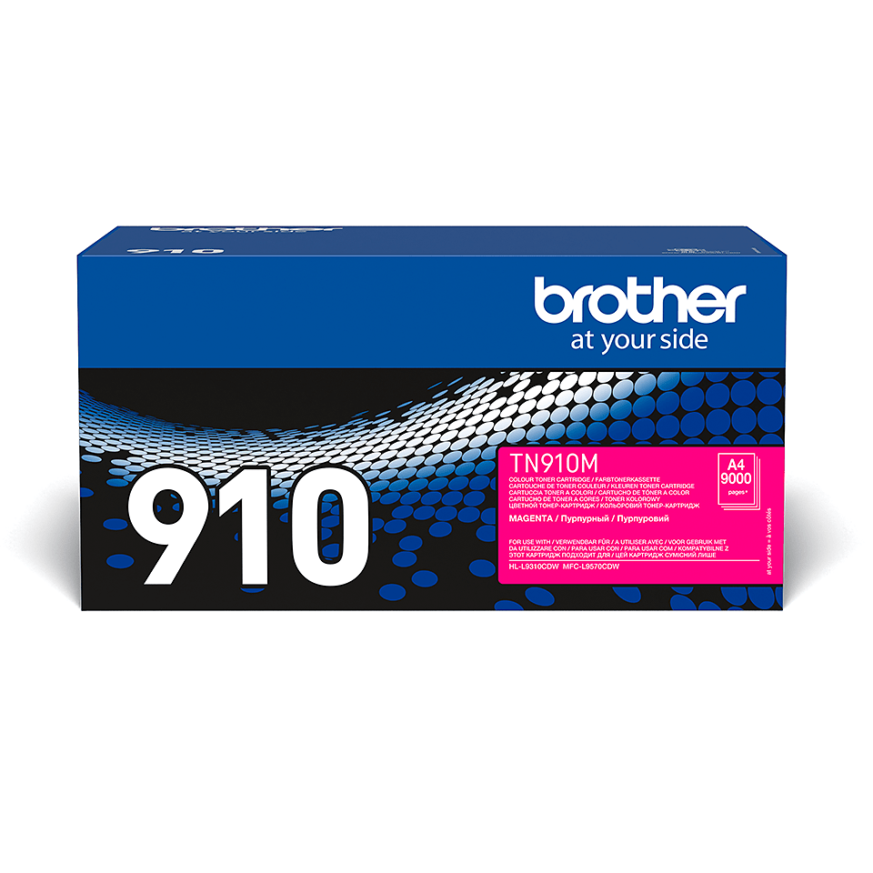 Cartuș de toner original Brother TN910M – magenta
