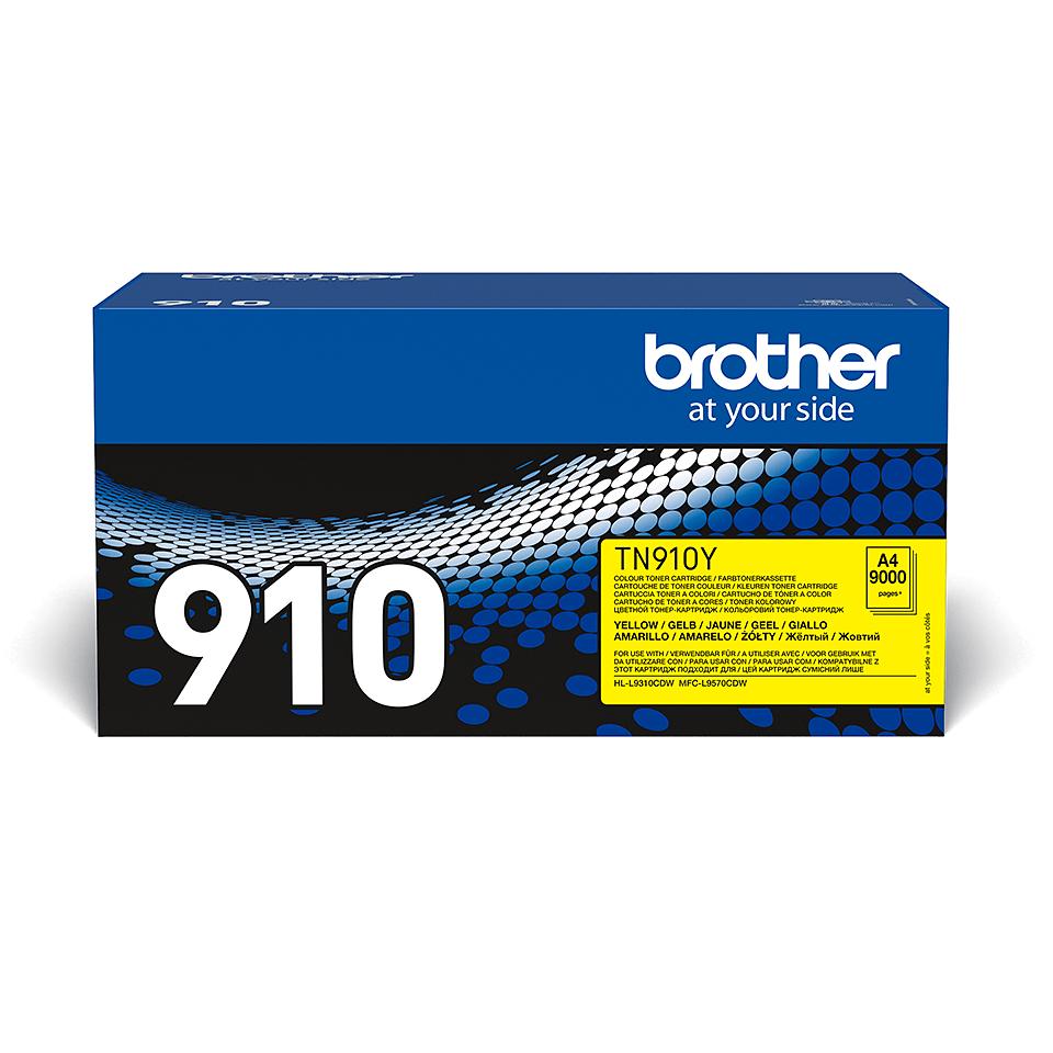 Cartuș de toner original Brother TN910Y – galben