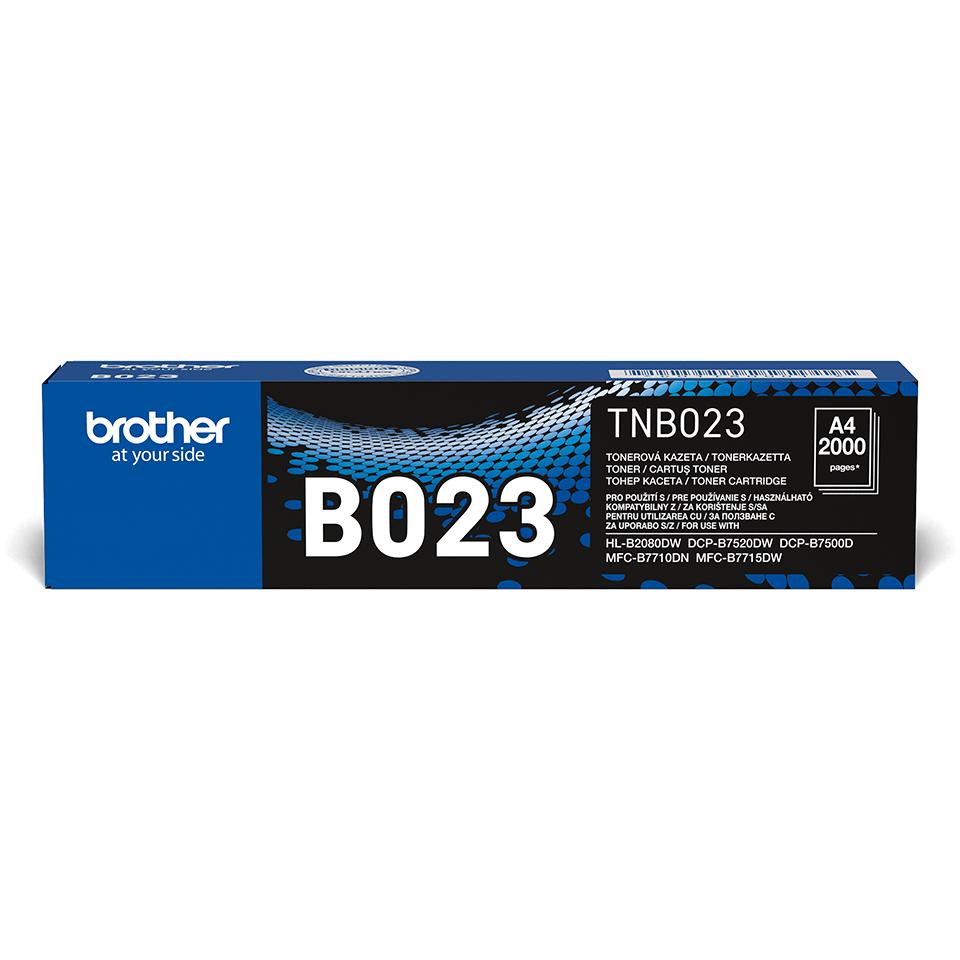 Cartuș de toner negru original Brother TN-B023 TonerBenefit