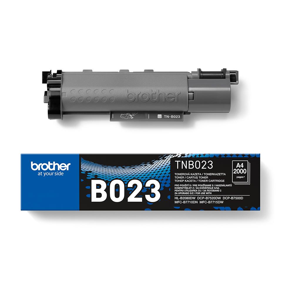 Cartuș de toner negru original Brother TN-B023 TonerBenefit 2