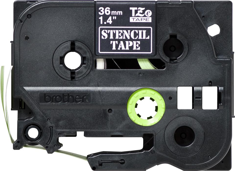 Casetă cu bandă șablon originală Brother STe-161 – lățime de 36mm