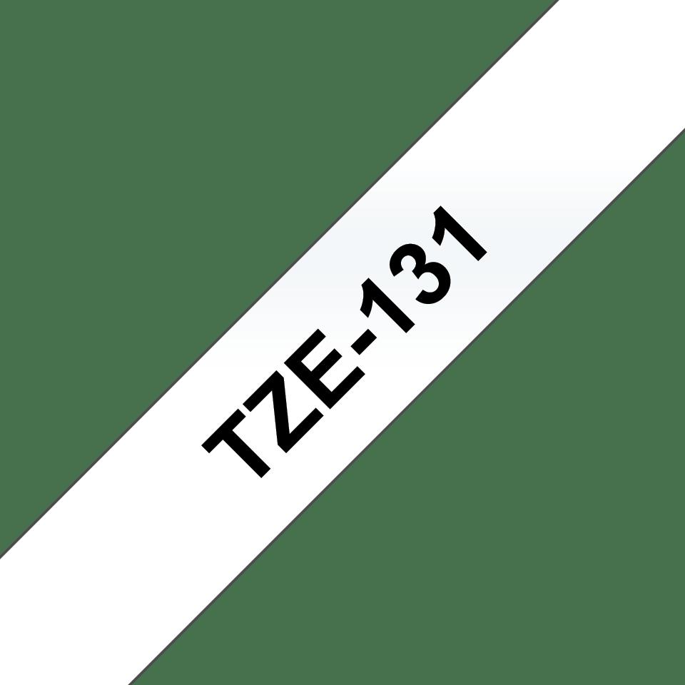 Bandă de etichete negru pe transparent Brother TZe-131 – 12mm lățime 3