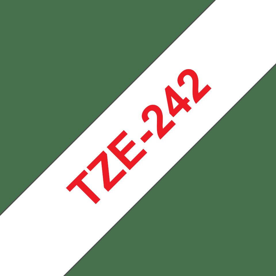 Casetă cu bandă de etichete originală Brother TZe-242 - lățime de 18mm 3