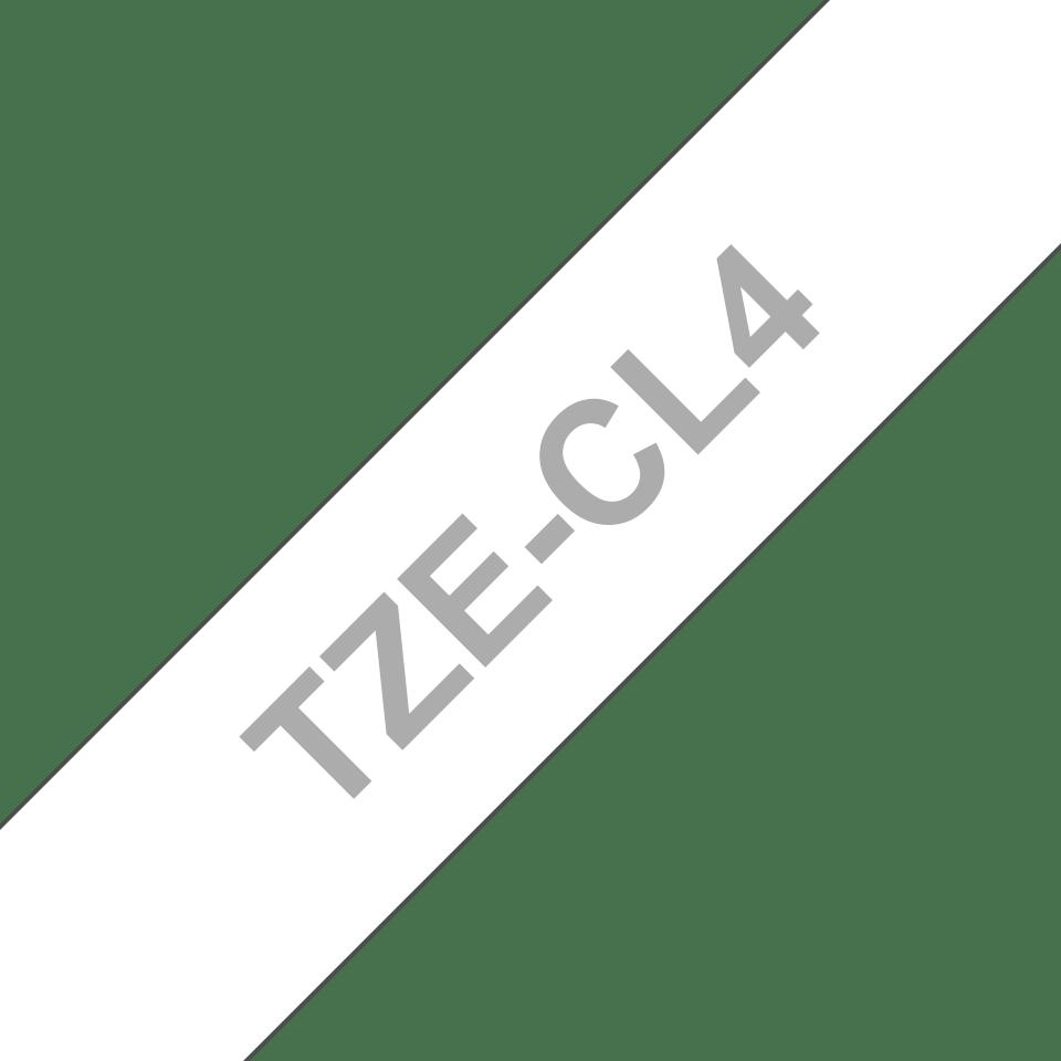 Casetă originală cu bandă de curățare Brother TZe-CL4 – lățime de 18mm 3