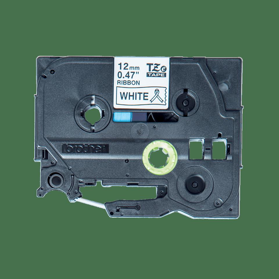 Casetă cu bandă planglică originală Brother TZe-R231 – negru pe alb, lățime de 12mm