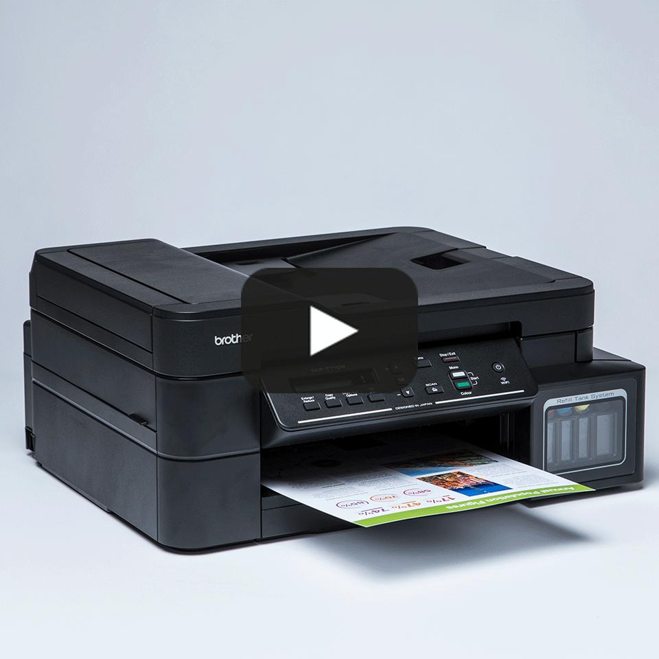 Imprimantă cu cerneală 3-în-1 cu wireless DCP-T710W de la Brother  8