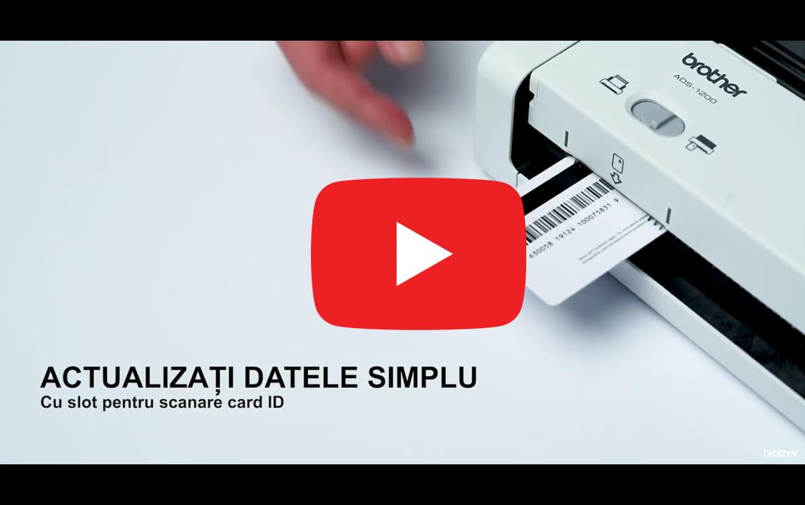 ADS-1200 Scaner de documente compact și portabil 9